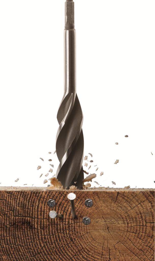 Armeg WWBNP20 20mm Nail-Proof Wood Beaver Drill Bit