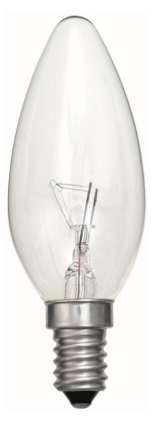 BELL 00091 Candle SES 60W 35mm Clear
