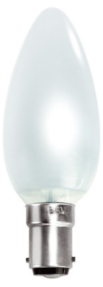 BELL 00161 Tough Candle SBC 40W 35mm Opl