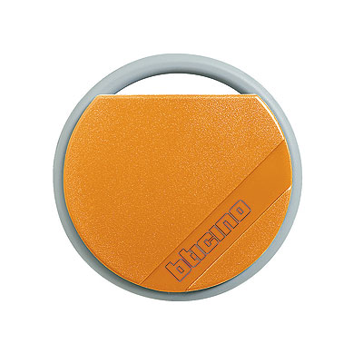BTicino 348204 Transponder Key Orange