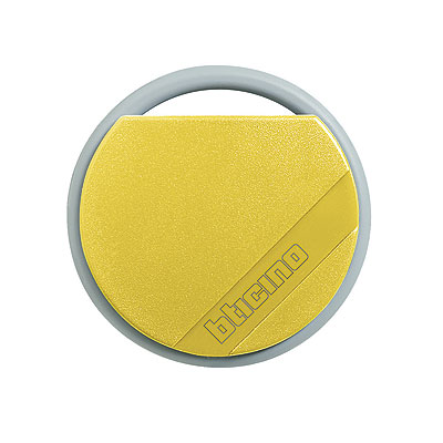 BTicino 348206 Transponder Key Yellow