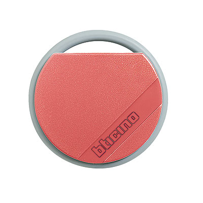 BTicino 348201 Transponder Key Red