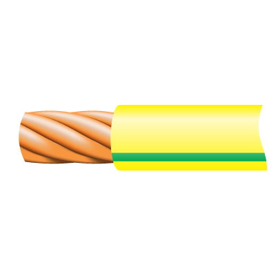 Cable TRI-RATED Pnl Wire 0.5mm G/Y 100m