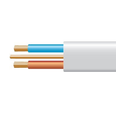 Cable 6242BH 2C&E LSZH 1mm Whi