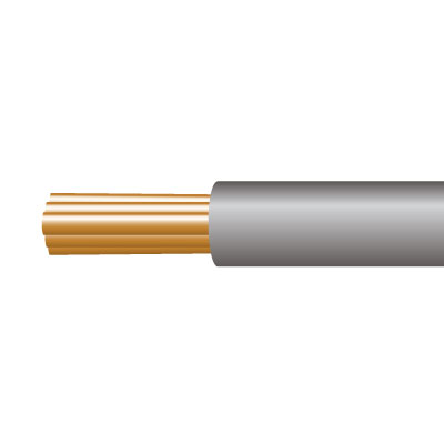 Cable 6491X 1 Core PVC 4mm Gry