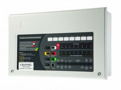 Channel CHAS/4 4 Zone Fire Panel