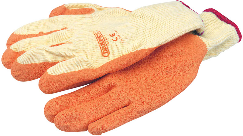 Draper 27624 HD Work Gloves Large Orange