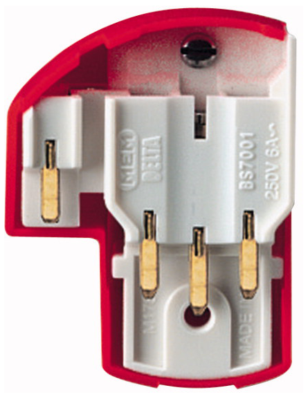Eaton F8640 Plug 4Pin LSC Red