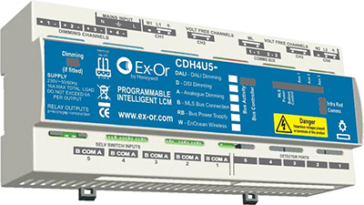 Exor CDH4U5-BD Connect Digital Box 4Ch