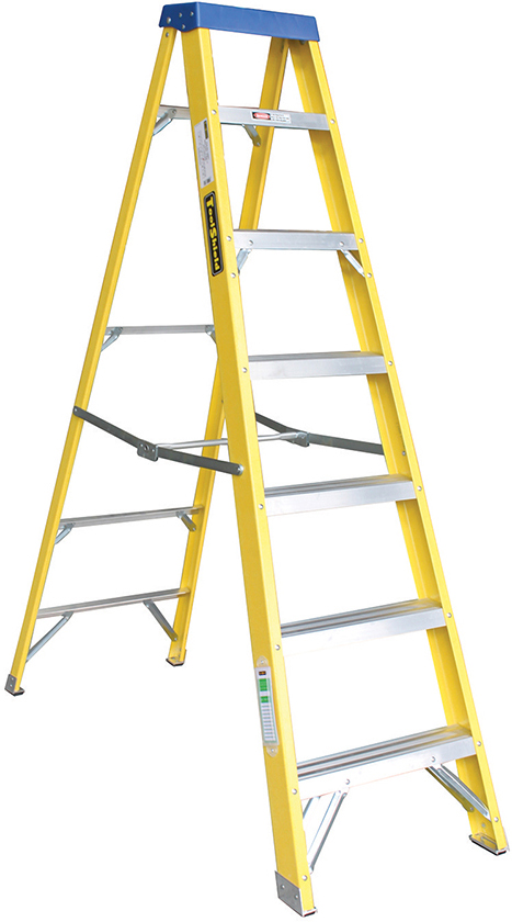 G Brook Ladf7 Ladder 6 Step Plus 1