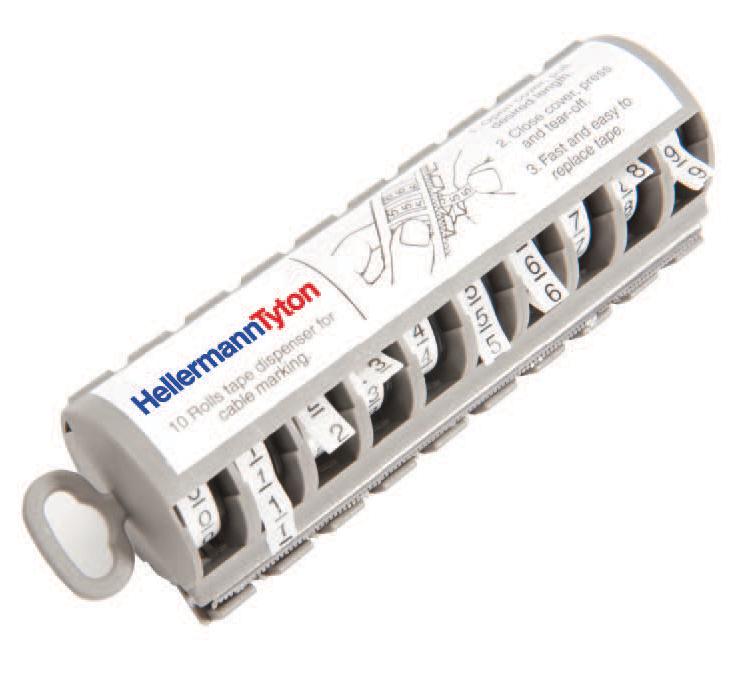Hellerman Mt1 Marker Kit Self Adhesive