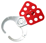IDEAL KB-0224-D Hasp Red Steel