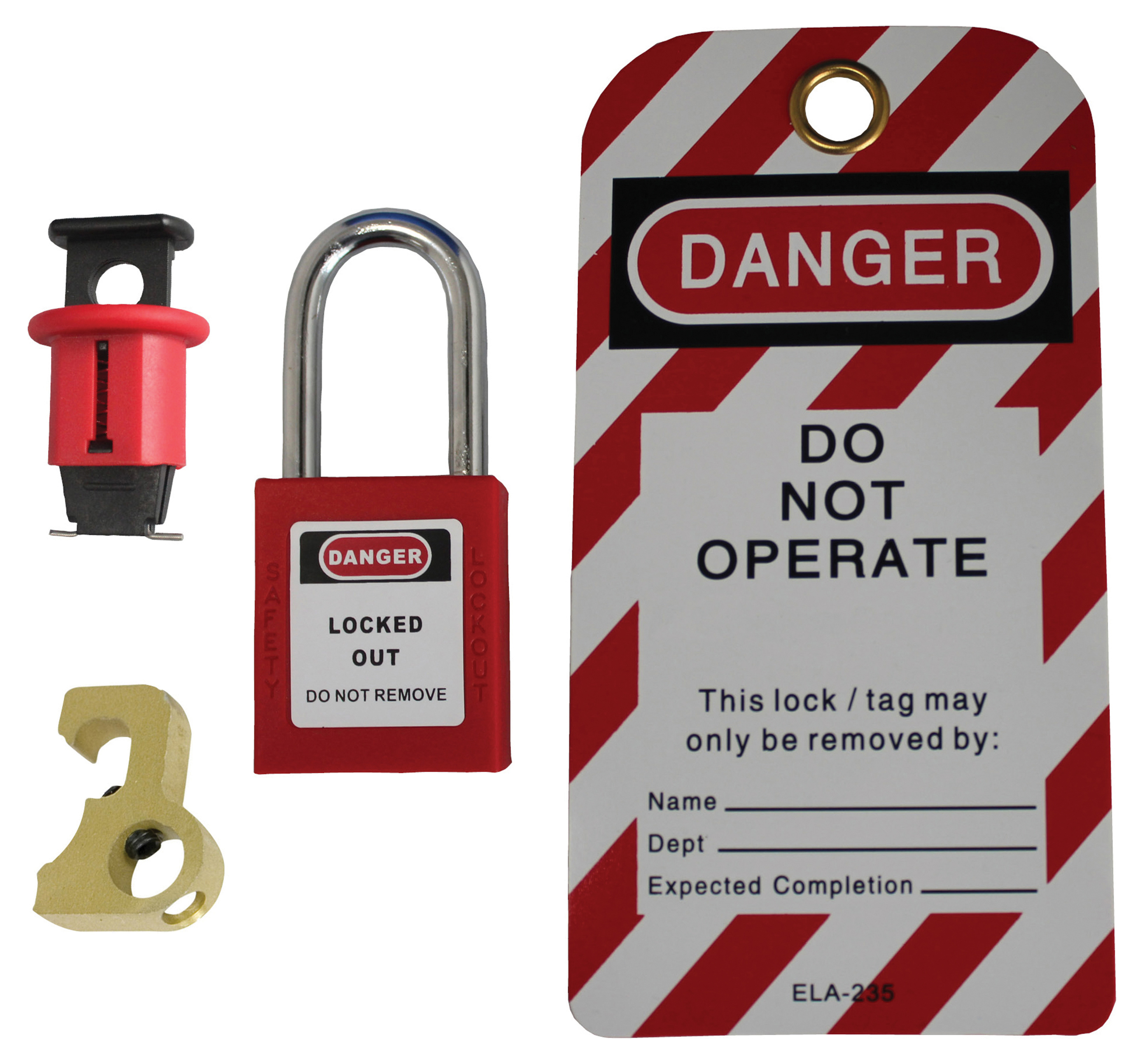 IDEAL 44-925 Personal Lockout/Tagout Kit