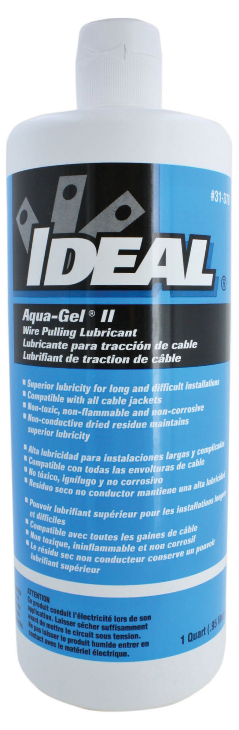 IDEAL 31-378 Lubricant 1Qrt Squeeze Bot