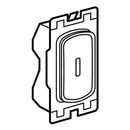 Legd 735423ET Grid Switch Key Test Whi