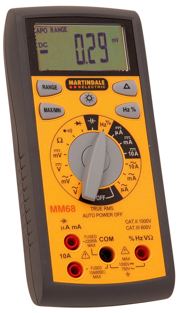 Martin MM68 True RMS Digital Multimeter