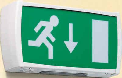 Menvier Sxn New Safe Exit Sign 3hrnm