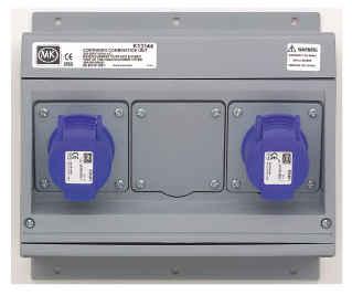 Admirable Mk K13144Blu Socket 2P E Angled 2X16A Wiring Database Xlexigelartorg