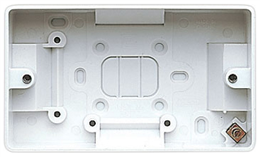 Volex 1 Gang 29mm Surface Box D9409NR