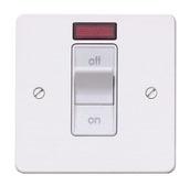 mk k14305bssb switch 1gang dp neon 32a  share