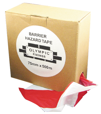 OF 093-330-030 Barrier Tape 33m Red/Whi