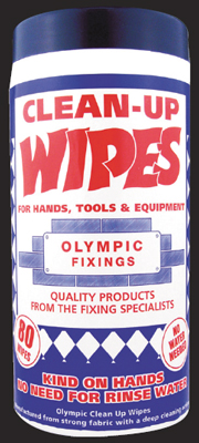 OF 236-600-025 Clean Up Wipes (80)