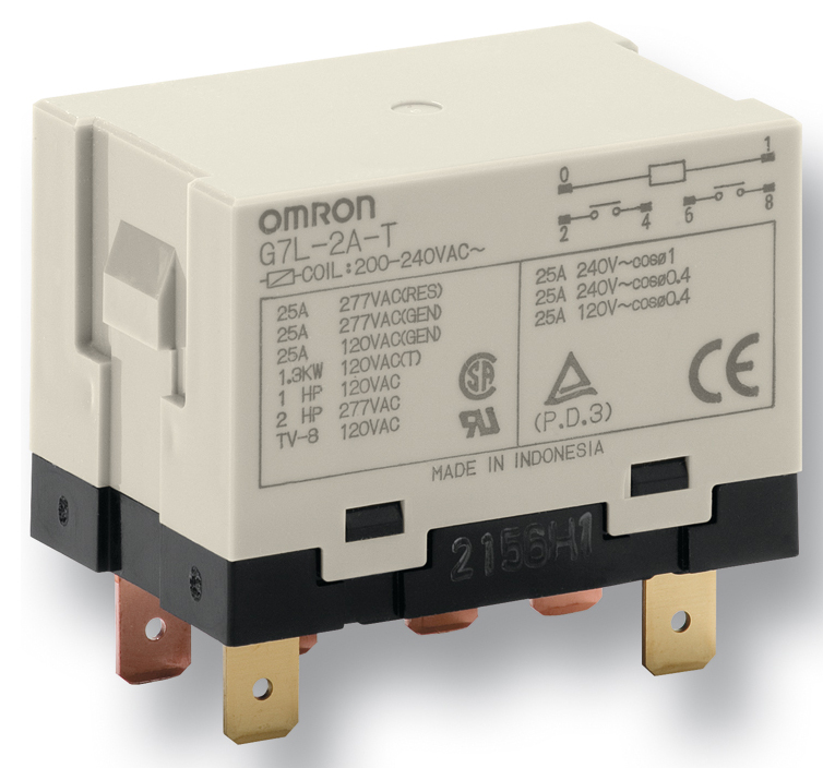 Omron G7L-1A-T24DC Relay 30A 24V DC