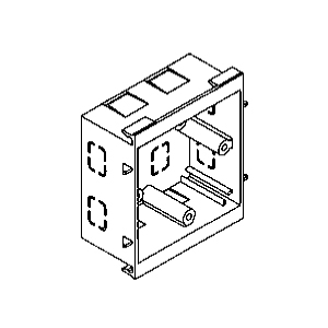 Rehau 242191 Socket Box 1 Gang 25mm