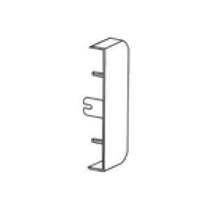 Rehau 288565 End Cap 140x50mm