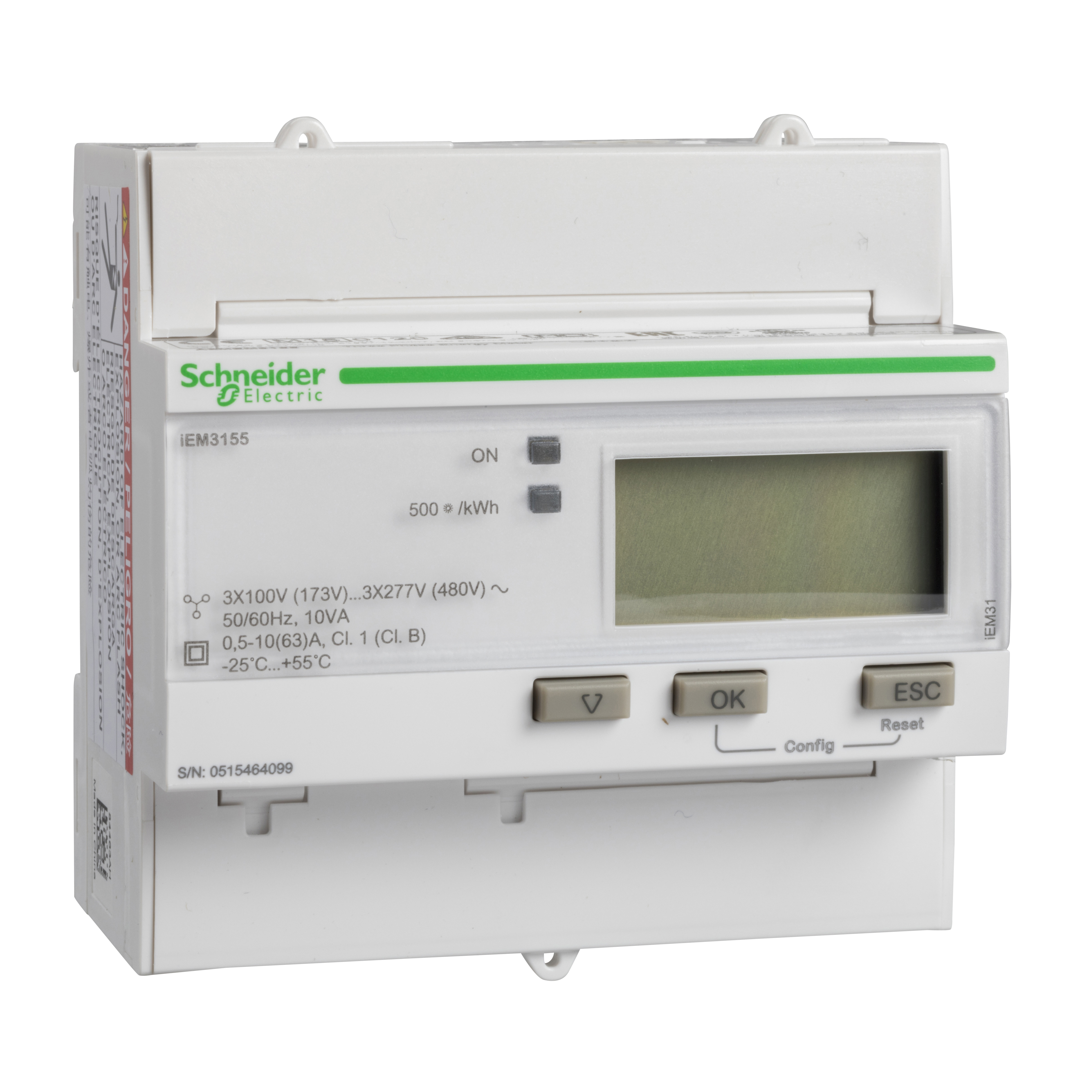 Schneider Sea9bn3155 Mid 3 Phase Kwh Kit How To Wire 3phase Meter Electrical Technology