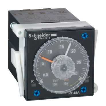 Schneider RE48AMH13MW Timing Relay M/F
