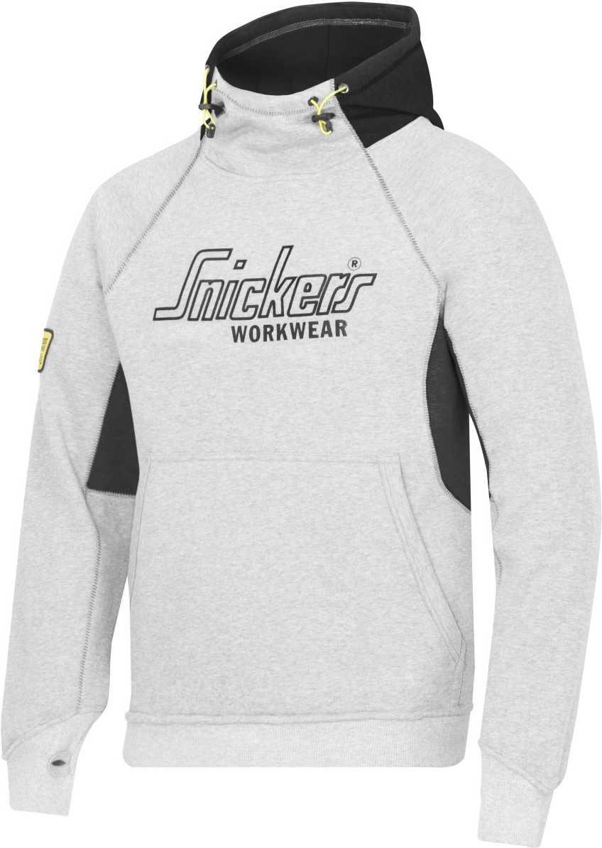 Snickers 28151804005 Hoodie Logo Med Gry