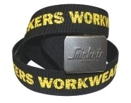 Snickers 90050406000 Belt Black/Yellow