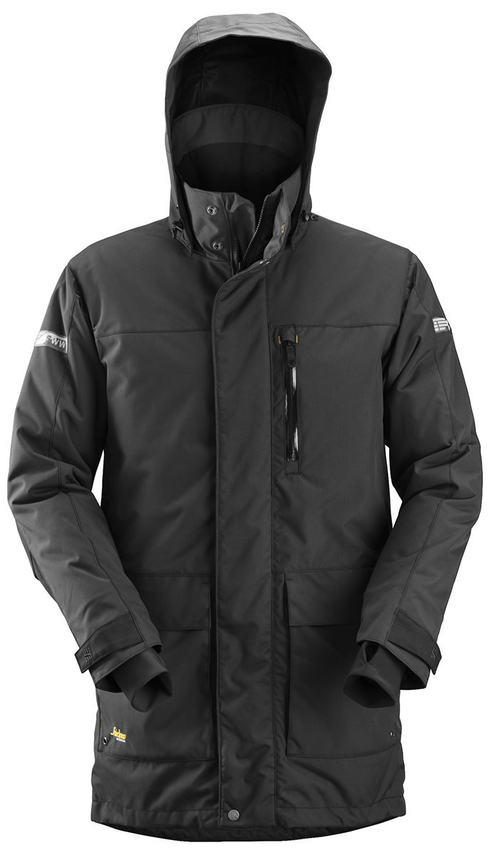 Snickers 18000404006 W/P Parka L Blk