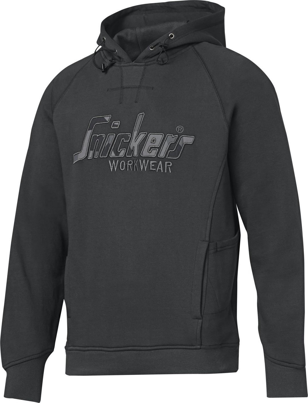 Snickers 28245887005 Hoodie Med Stl Gry