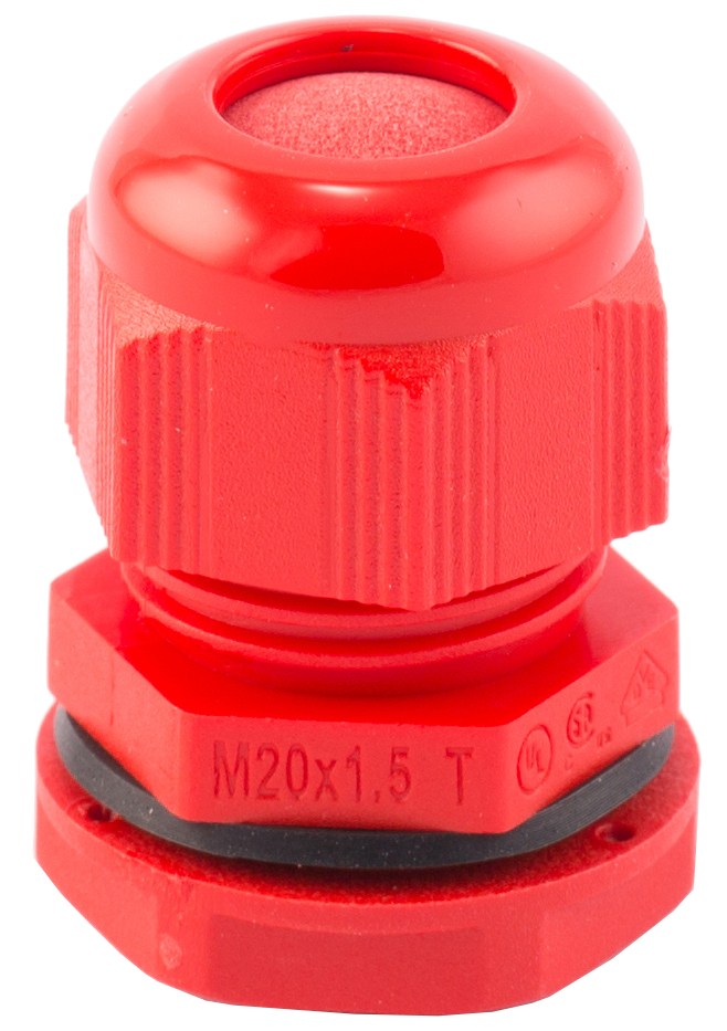 SWA CG/LNM-20LR Cable Gland 20mm Red PA