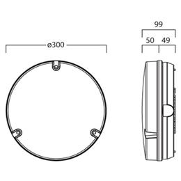 Wall Light Fitting Instructions : SYL 0039958 Guide Round HF+2D 16W