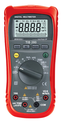 TIS TIS280 Auto-ranging Multimeter