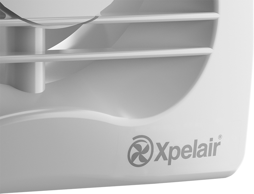 Xpelair 93225AW VX100T Single Speed Fan