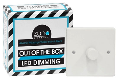 Zano ZSP151 Dimmer Switch 1G 0-150W Whi
