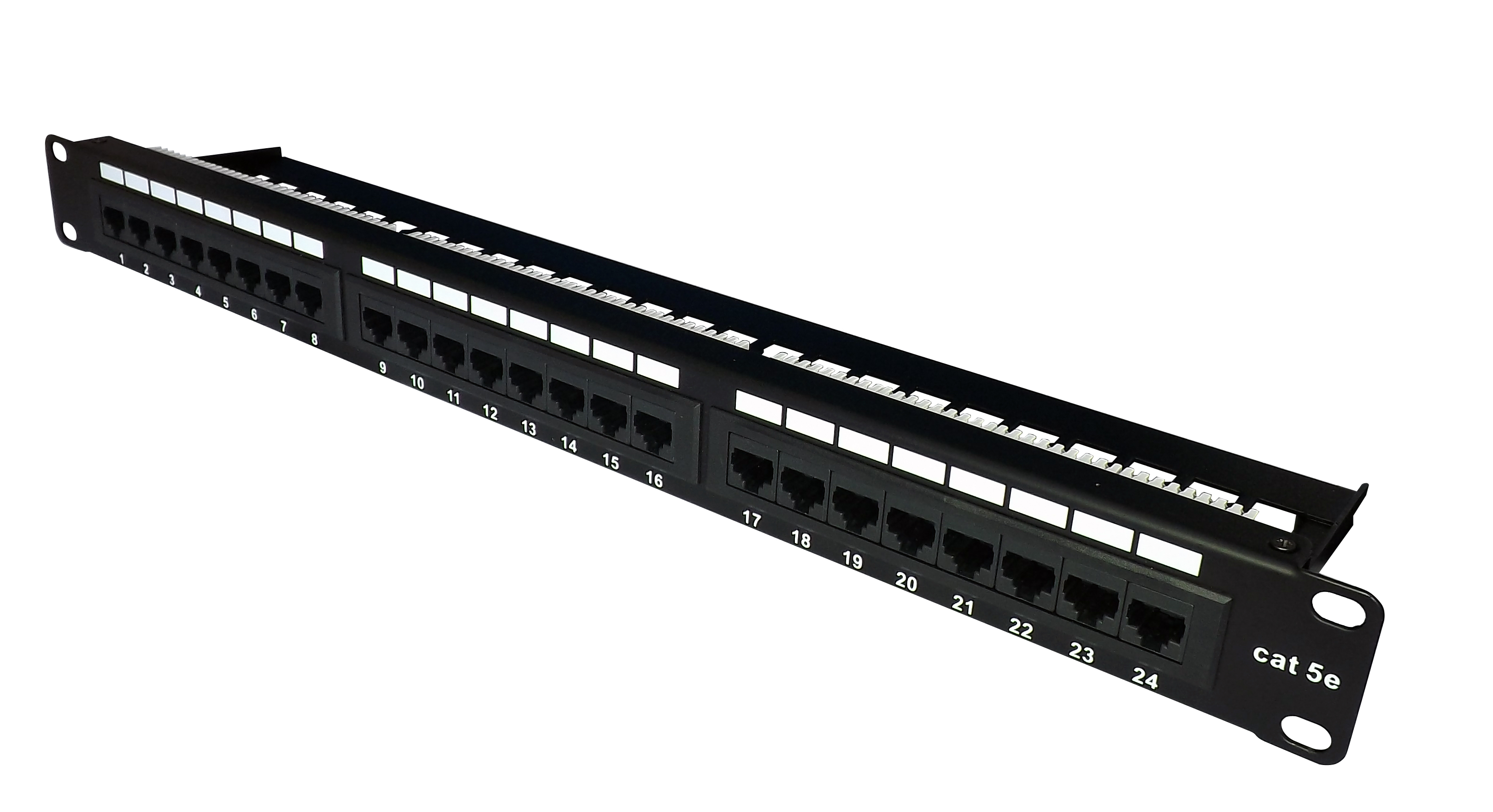 TUK FFSH24sh Cat5e 24 Port Patch Panel