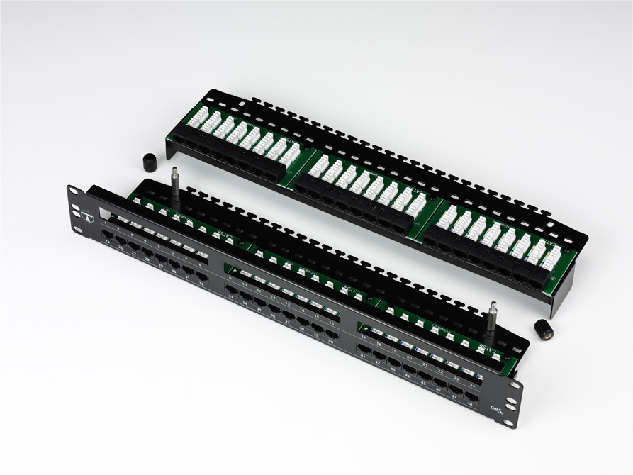 TUK FF48L Cat5e 48 Port Patch Panel