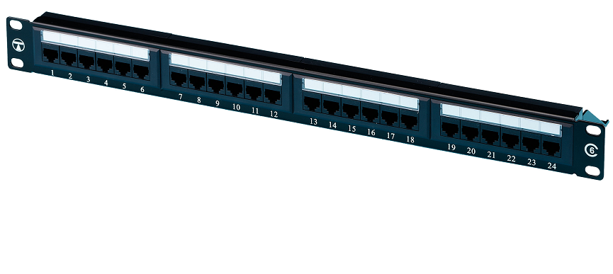 TUK SF48C Cat6 48 Port Patch Panel