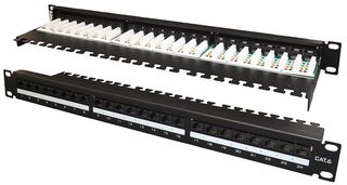 TUK SF24mc Cat6 24 Port Horz Patch Panel