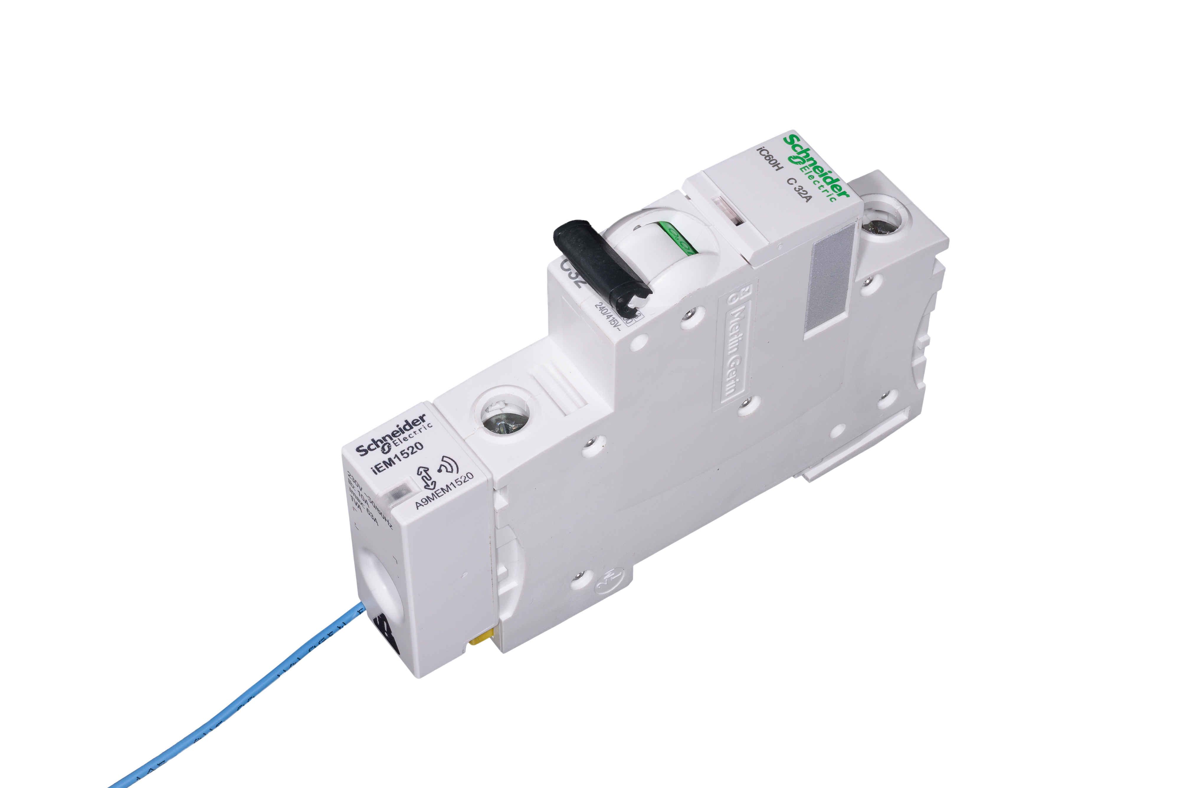 Schneider A9mem1520 Energy Sensor 63a 240 3 Phase Contactor Wiring